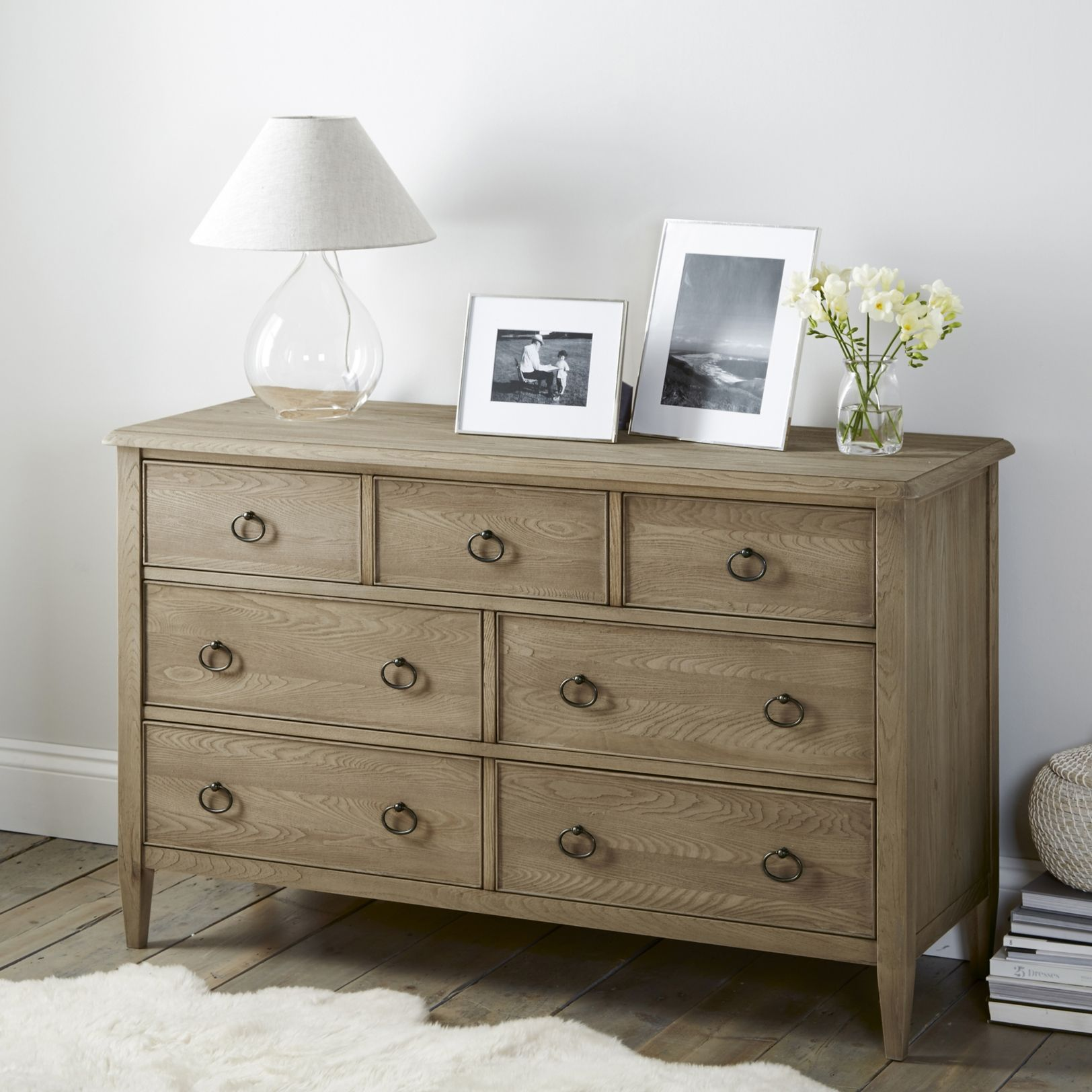 Ardleigh Wide Chest Of Drawers Bedroom Furniture Furniture Home The White Company
