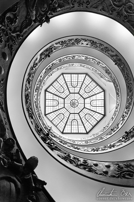 Vatican Stairs 2 by Christian Öser, via 500px