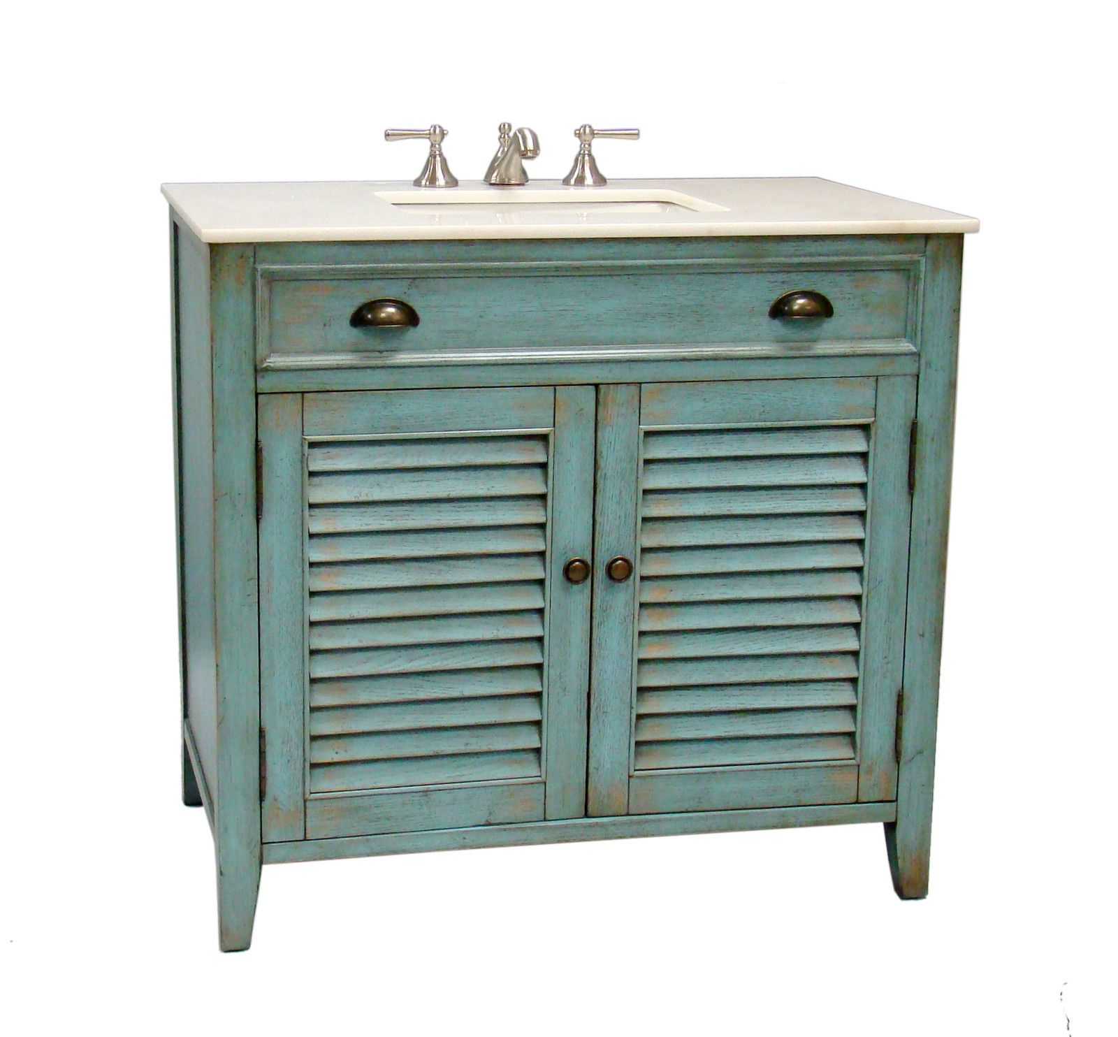 "36"" Cottage look Abbeville Bathroom Sink Vanity Cabinet - Model ..."