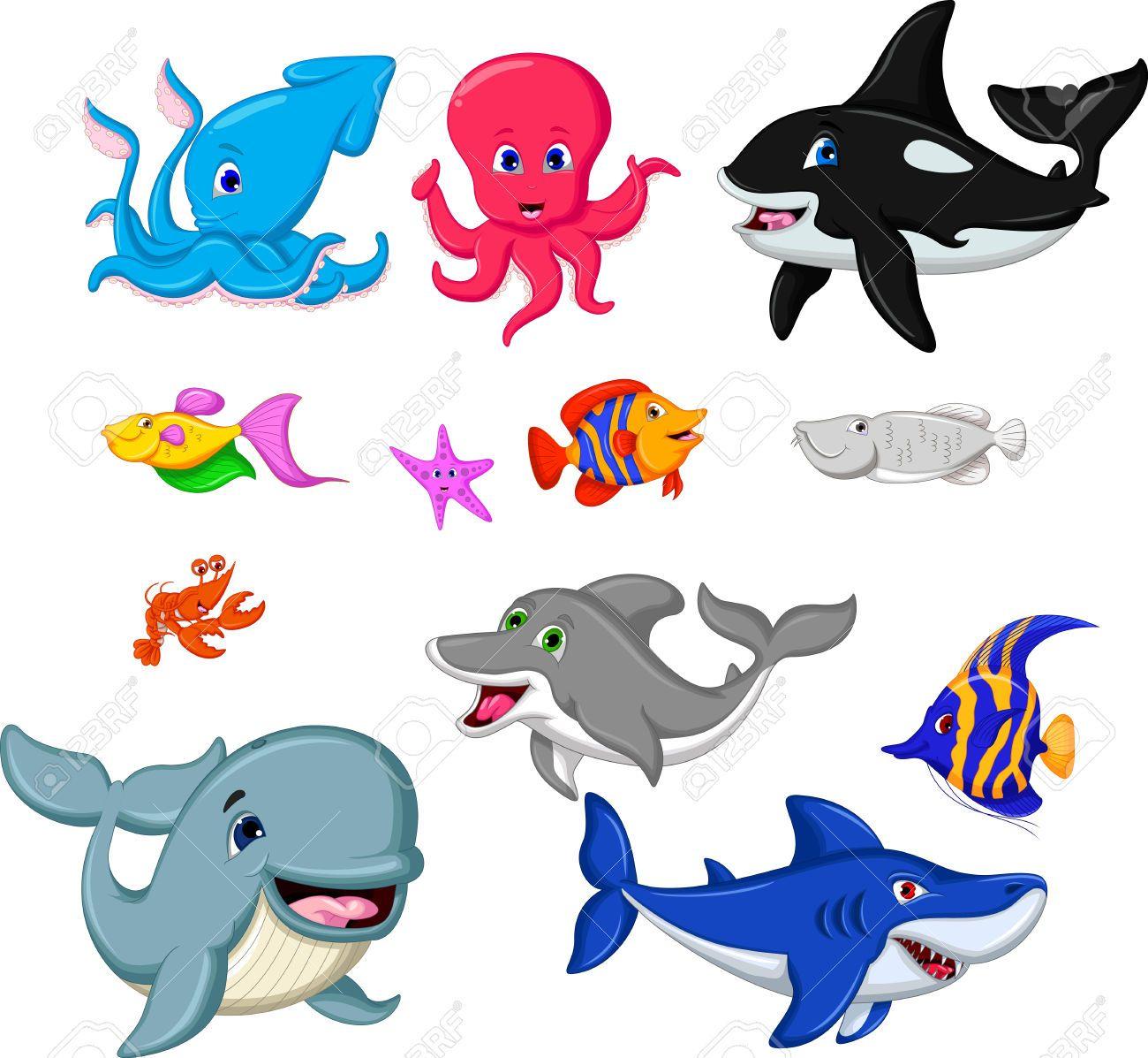 Animales Acuticos Animados Buscar Con Google BABY