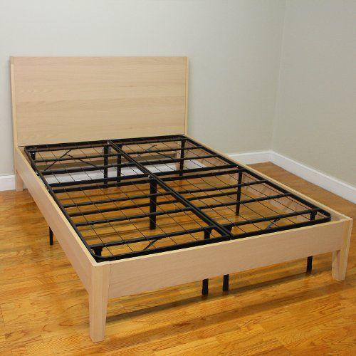 Metal Platform Bed Frame Queen Decorate Ideas | Queen Beds ...
