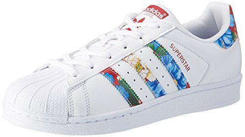 adidas Damen Superstar W Sneaker, Weiß (Ftwwht/Ft | Athletic ...
