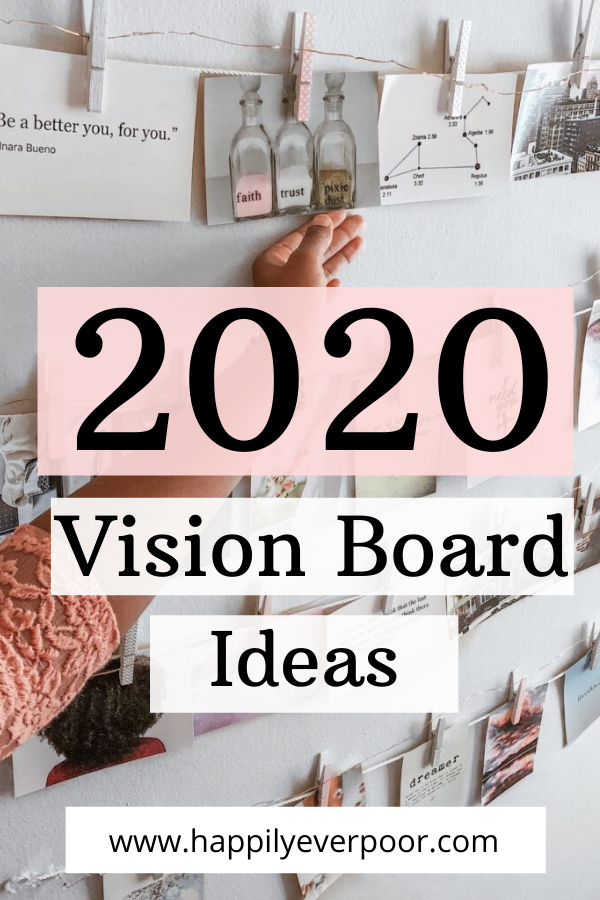 Vision Board Ideas for 2020