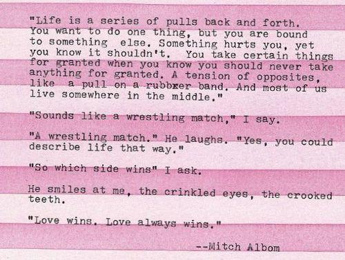 love always wins #quote