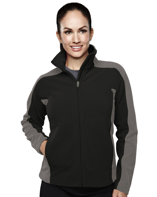 Women's Micro Fleece Bonded Jacket With Membrance (100% Polyester). Tri mountain 7860 #microfleece #jacket #polyester #Womenswear #Women #stylish