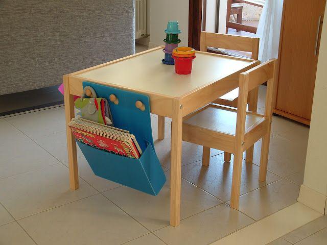 latt table equipped organization ideas ikea table hack ikea rh pinterest com