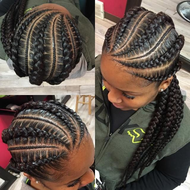 trendy braided hairstyles 2018