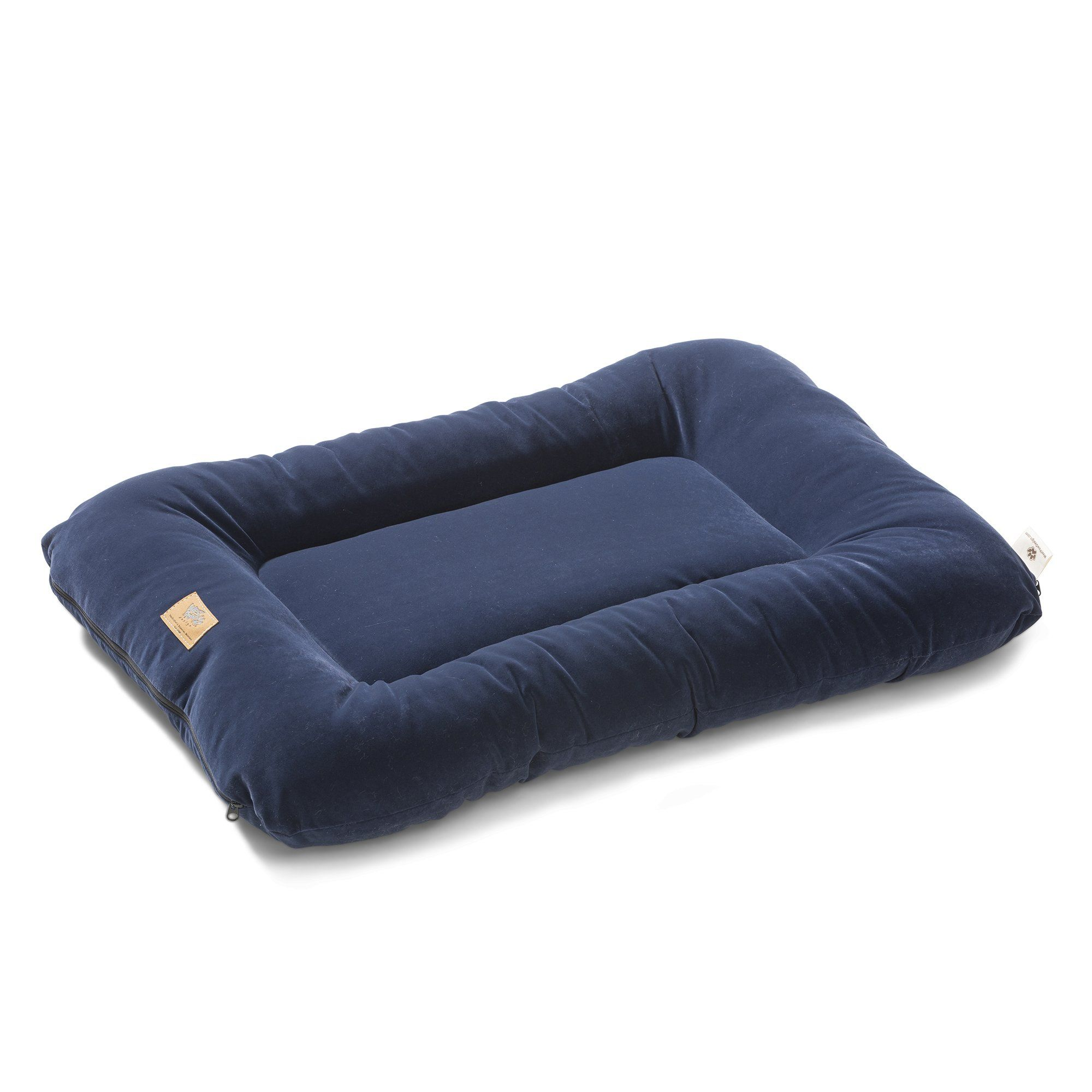 West Paw Design Heyday Dog Bed with Microsuede Super