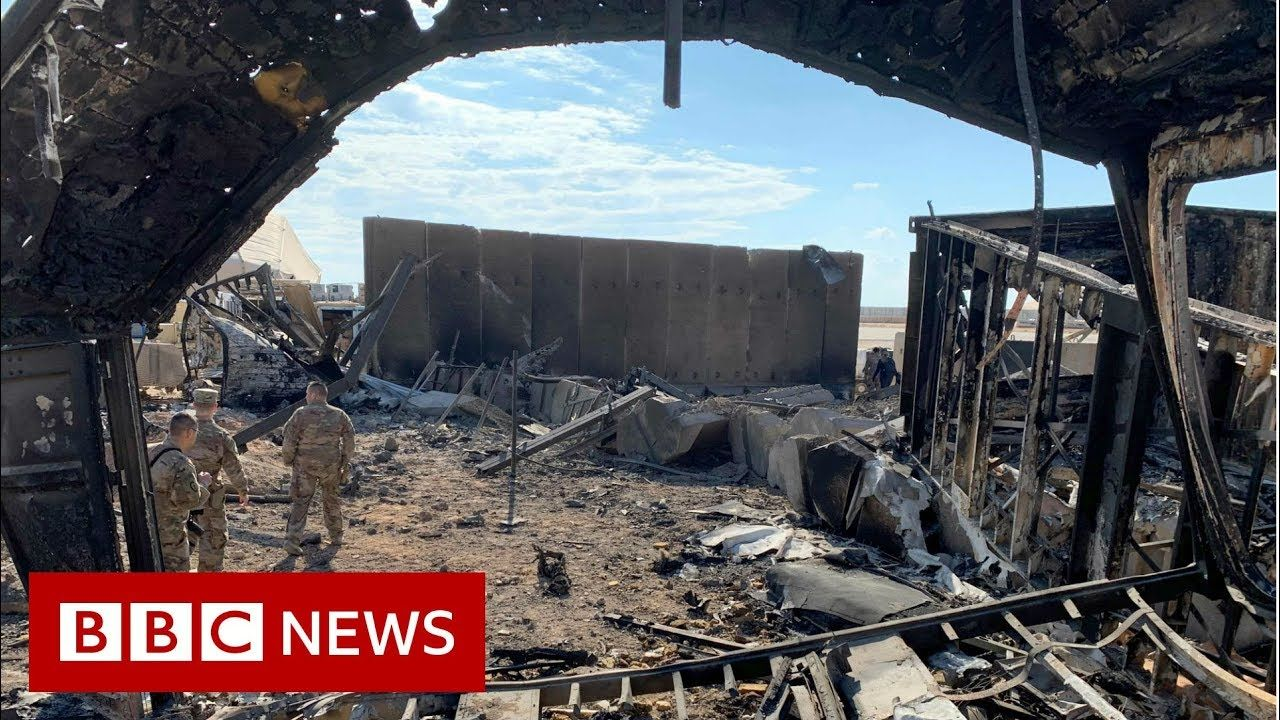 Inside a US air base attacked by Iranian missiles BBC
