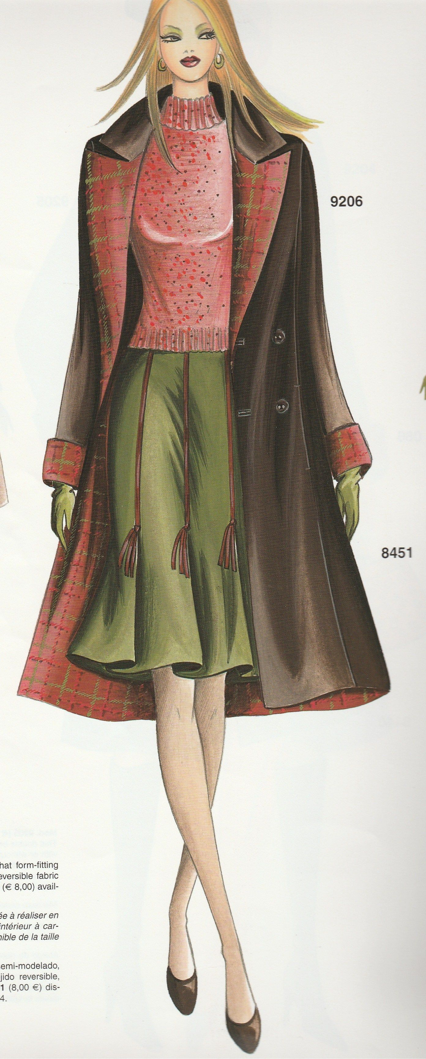 Marfy coat and skirt | MARFY STYLE | Pinterest