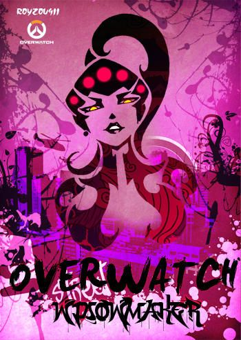 The coolest fan art pictures in Overwatch, which include Reaper, Junkrat, McCree, DJ, Hanzo, Roadhog, Zarya, Genji, Widowmaker, Mei, Soldier76, Tracer and Mercy in totem style.