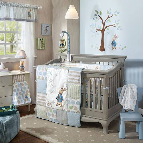 Lambs Ivy Peter Rabbit 4 Piece Bedding Set Peter Rabbit Crib Bedding Peter Rabbit Baby Bedding Baby Crib Bedding Sets