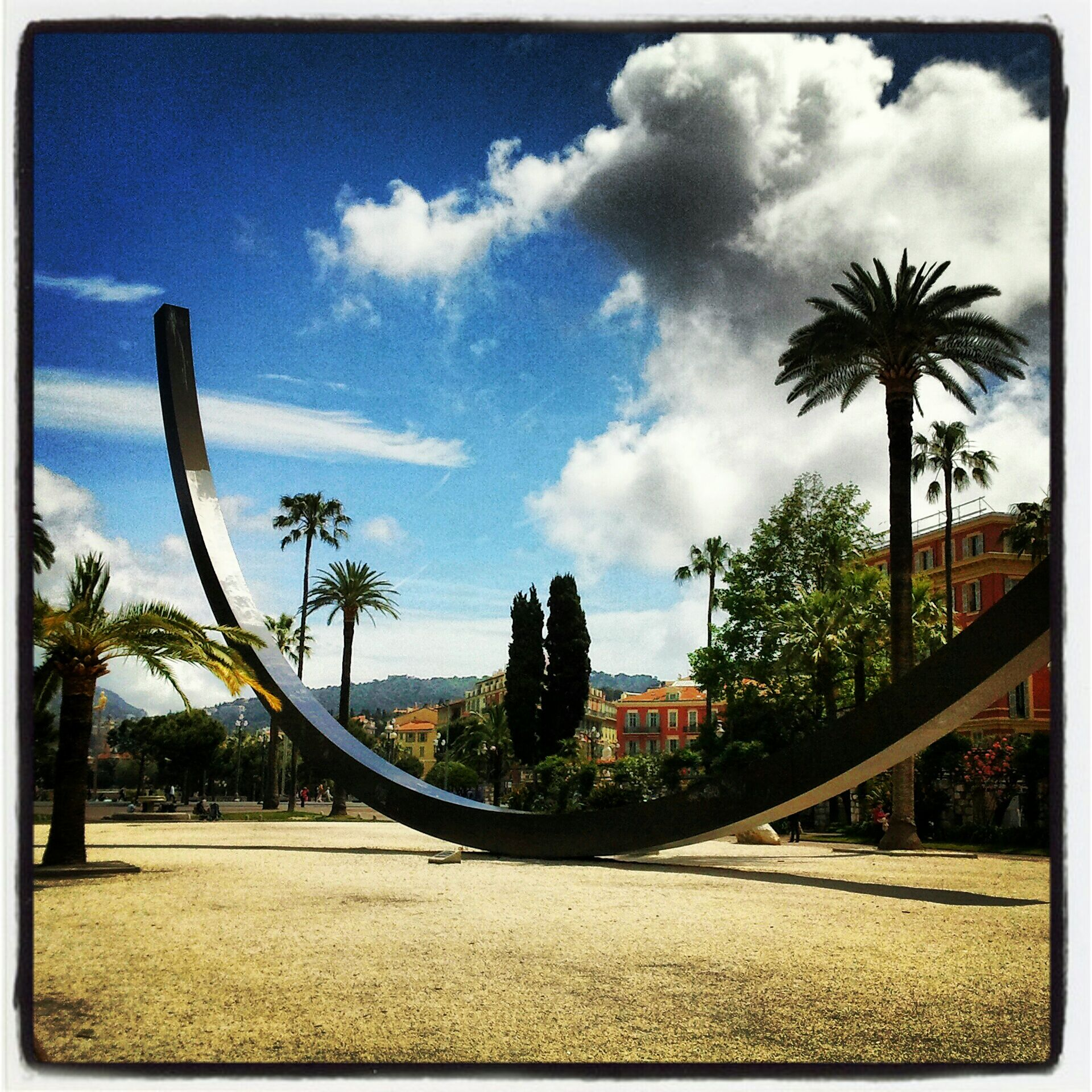 Jardin Albert 1er in Nice | Frankrijk