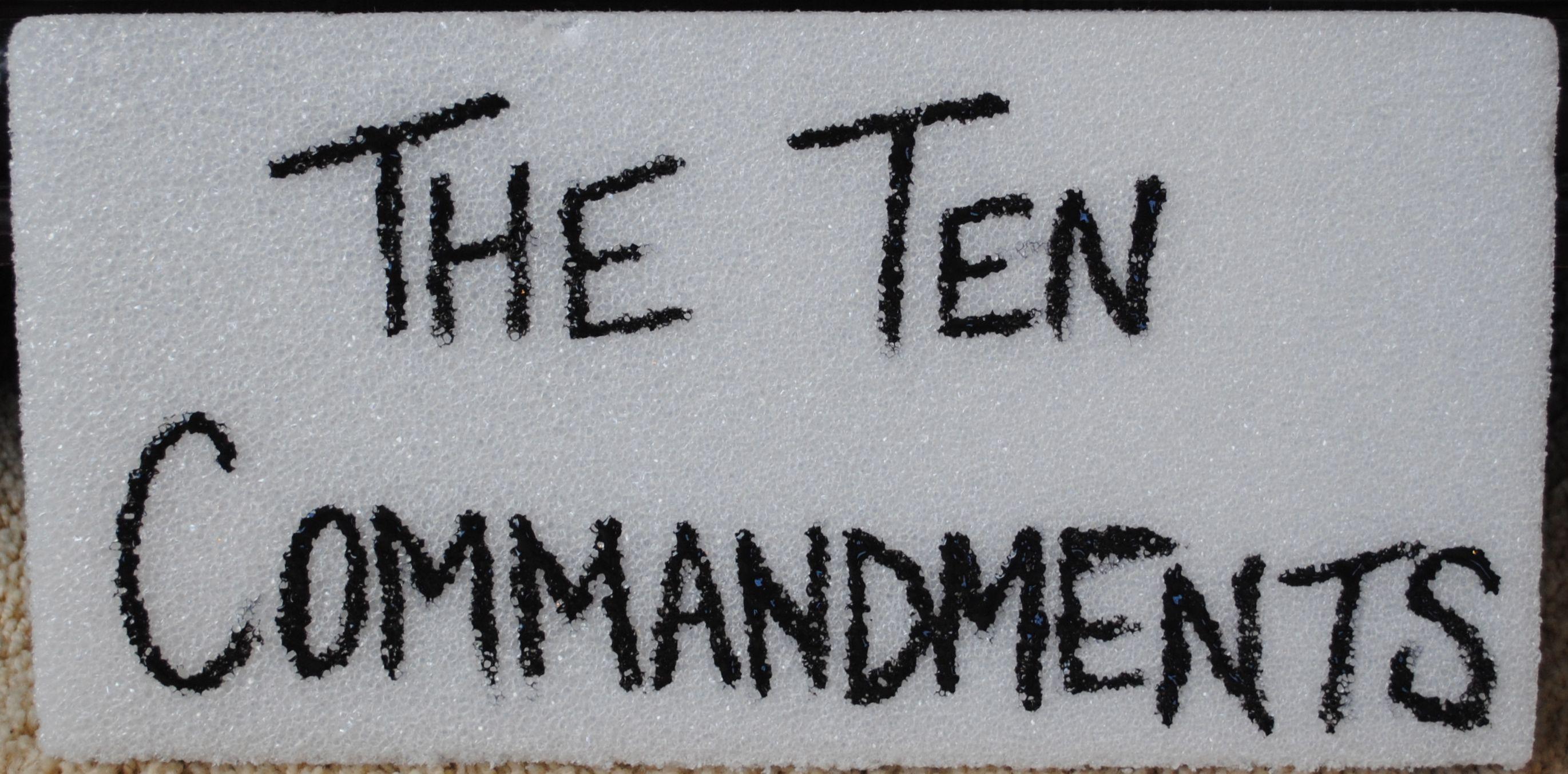 11 Broken Ten Commandments