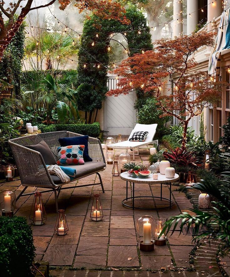 sweet romantic fairy garden autumn nights cozy small on best large backyard ideas with attractive fire pit on a budget id=63187