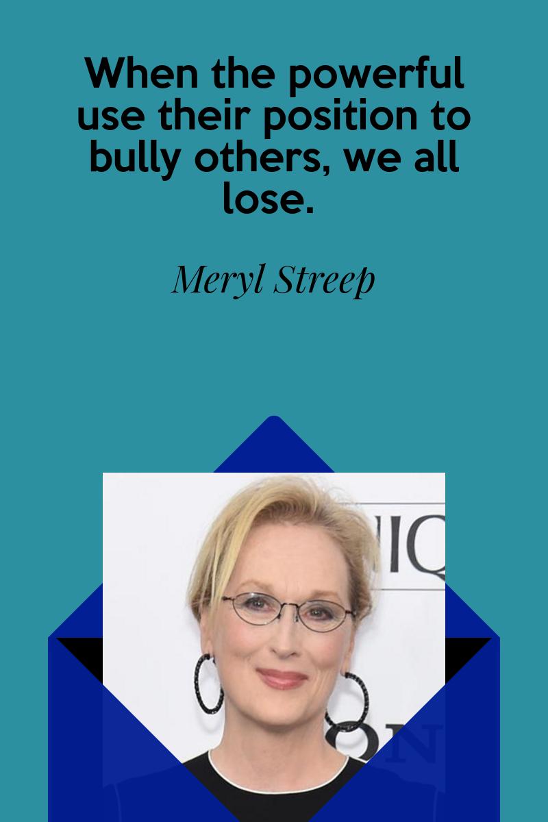Meryl Streep Quotes Famous Quote Art Empathy Inspiration Motivation