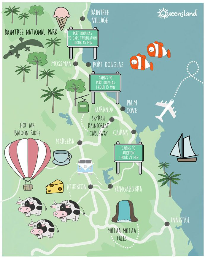Map Of Australia Port Douglas.Explore Cairns And Port Douglas Through The Enticing Food Trails