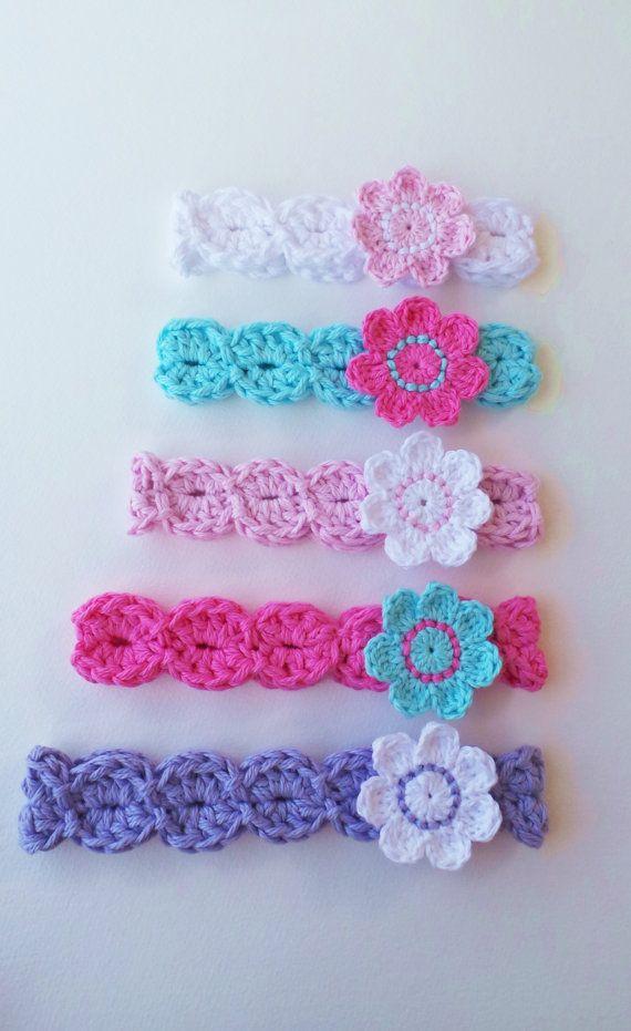 CROCHET HEADBAND Pattern BABYS headband pattern Girls headband pattern 8 sizes Download pattern Baby girl headband flower headband Uk terms #couponing