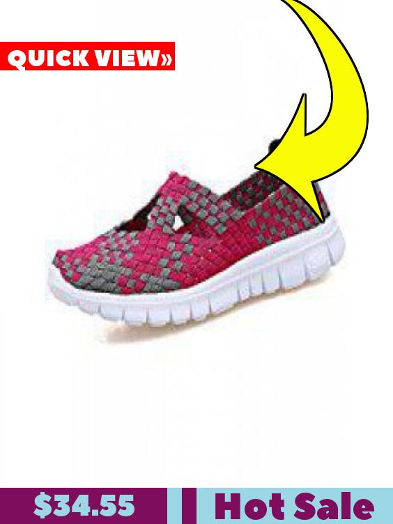 20bd0a9e25ed Women Woven Shoes Slip On Handmade Sneakers Comfort Lightweight Walking  Shoes  34.55  여성 운동화