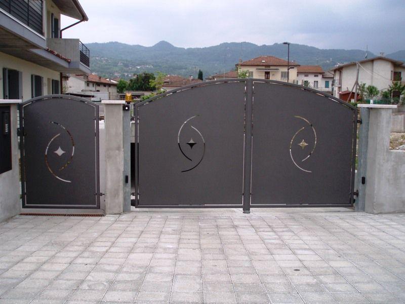 Cancello ferro battuto cerca con google cancelli for Foto cancelli scorrevoli in ferro