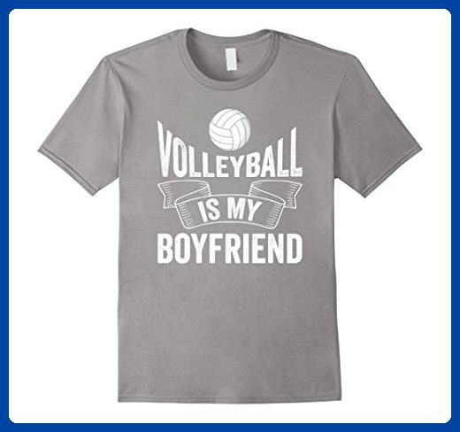 Mens Volleyball Is My Boyfriend Funny Volleyball Player Humor Tee 3xl Slate Sports Shirts Amazon Partner Link Dad To Be Shirts Funny Shirts Geek Shirts