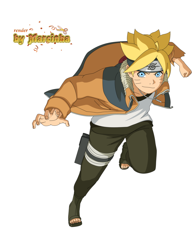 Boruto Orange Jacket By Marcinha20 On DeviantArt