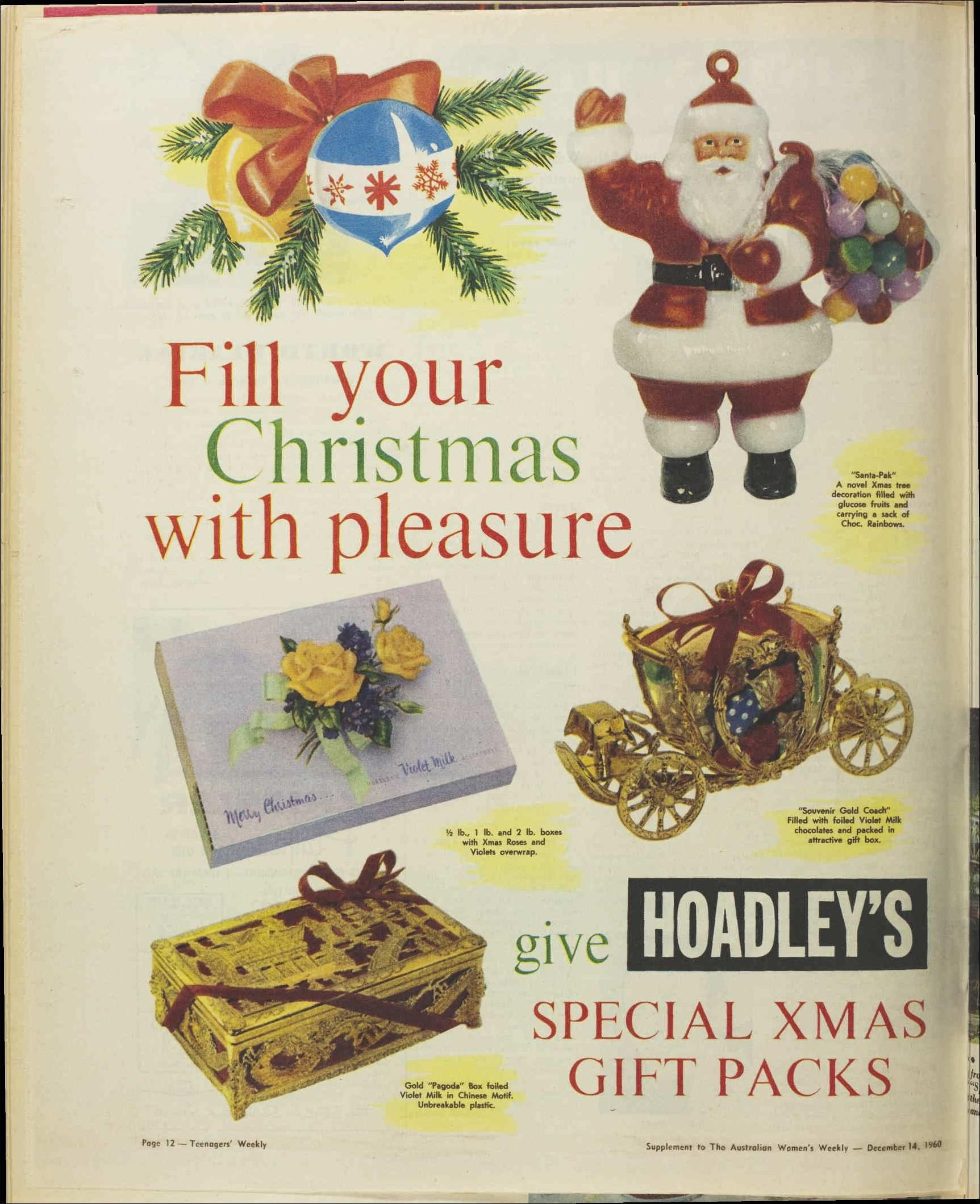 Issue: 14 Dec 1960 - The Australian Women\'s Wee... | Wendy\'s things ...