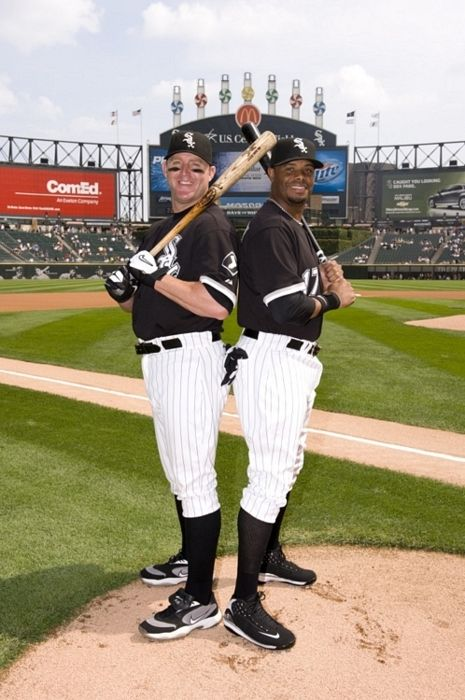 low priced 4cb6f a0c4a Jim Thome and Ken Griffey Jr Chicago White Sox Two future ...