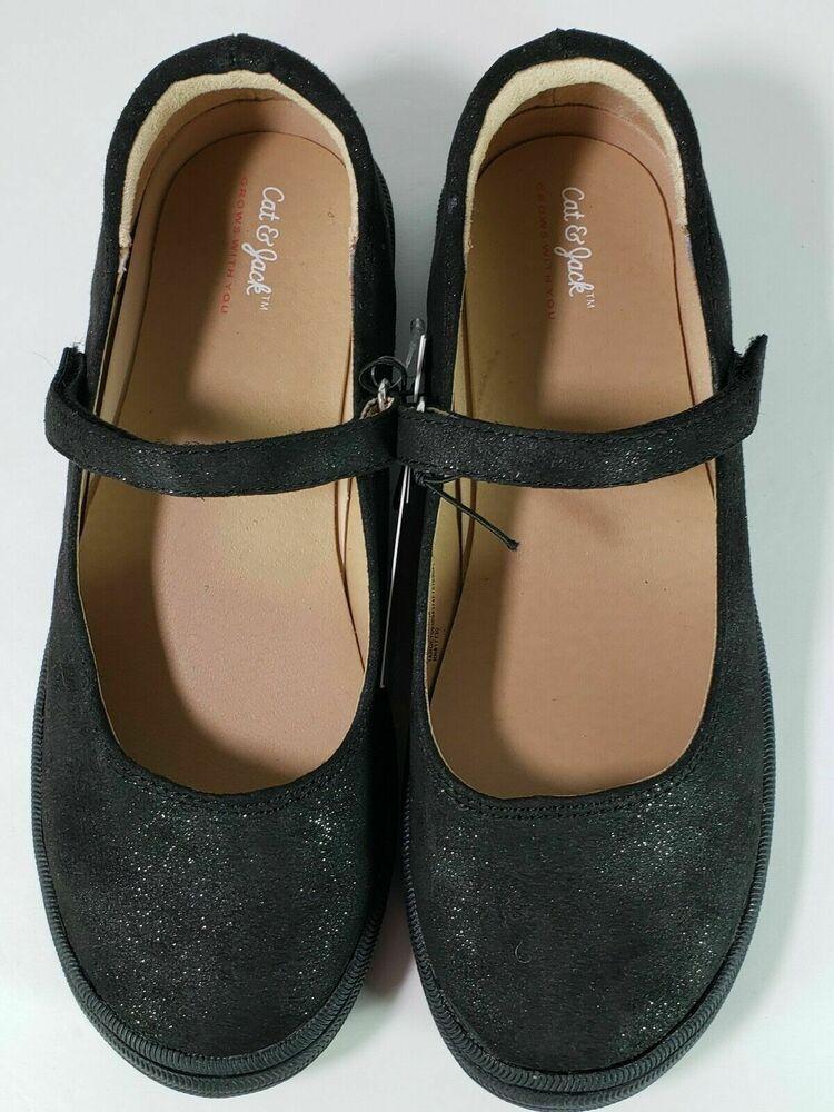 522f7afa1 Cat & Jack Girls youth GLITTER Black Casual Mary Jane dress shoe size 5  Olympia #fashion #clothing #shoes #accessories #kidsclothingshoesaccs  #girlsshoes ...