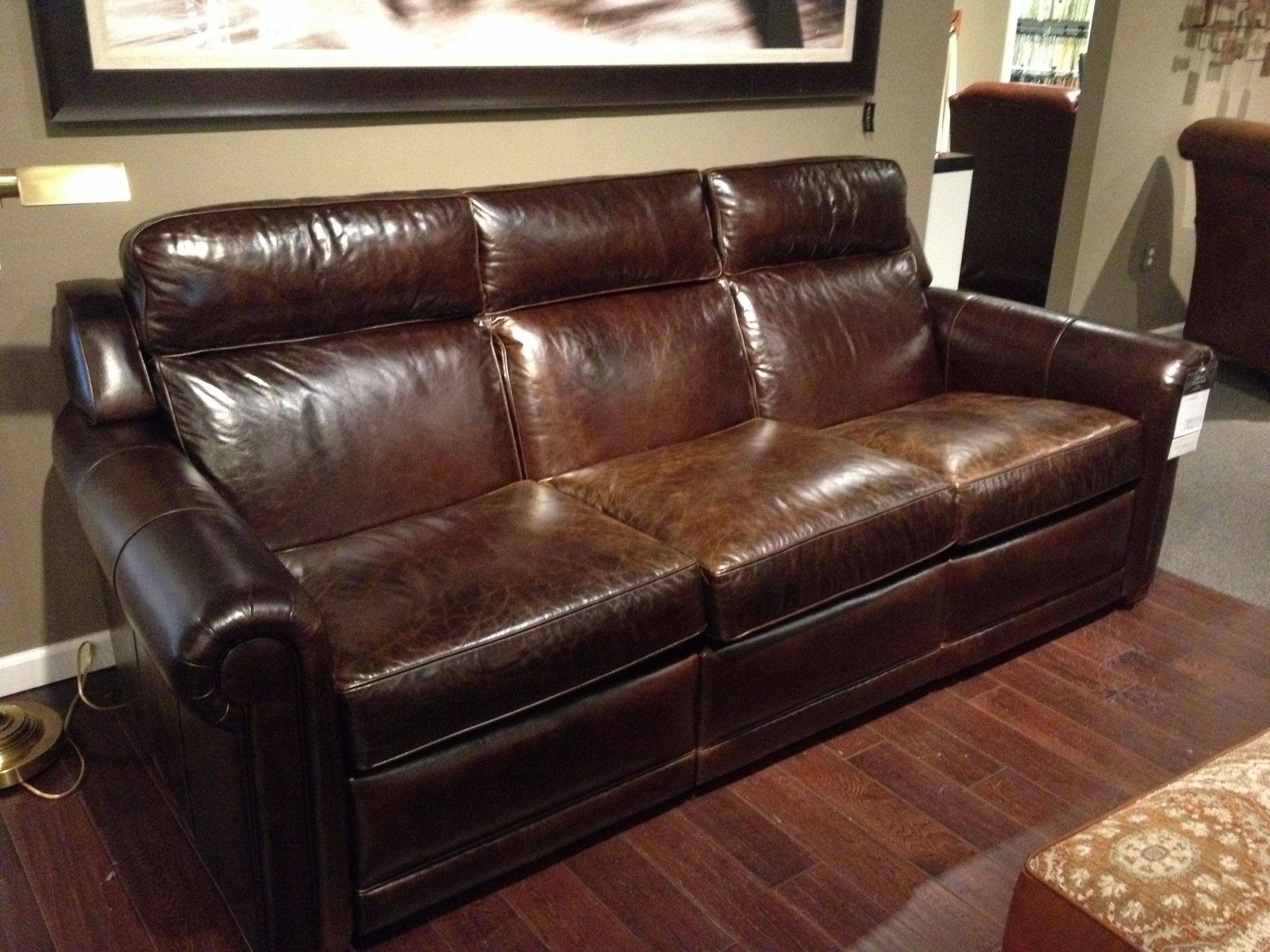 New Reclining Sofa From Ethan Allen Very Comfortable