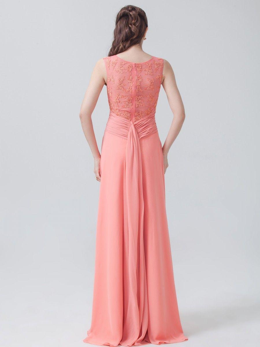 Lace and chiffon dress bride pinterest chiffon dress and