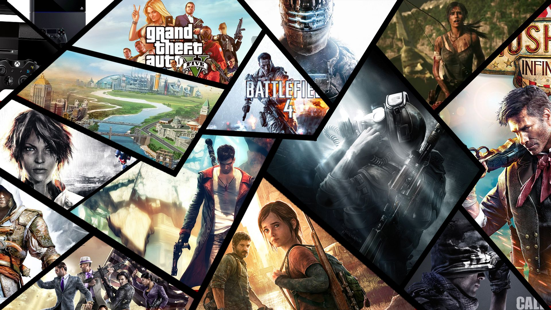 Image result for pc games collage