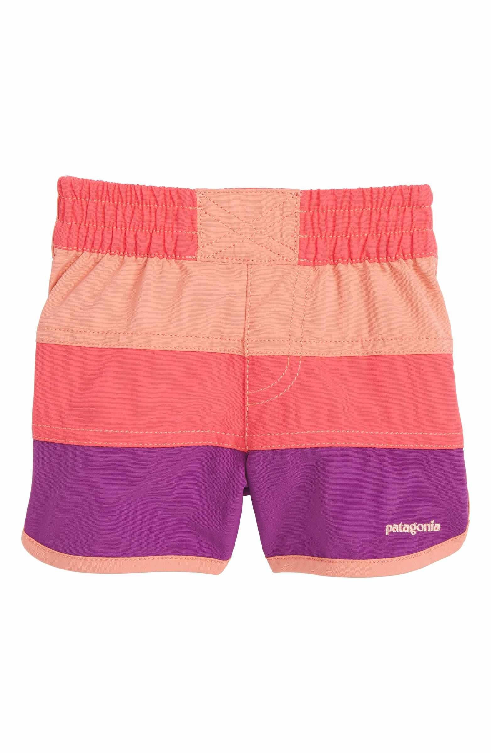 5d927dfaa2 Main Image - Patagonia Board Shorts (Baby Girls) | Dress the Toddler ...