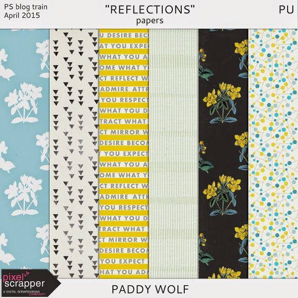 Free Reflections Paper Pack from Paddy Wolf