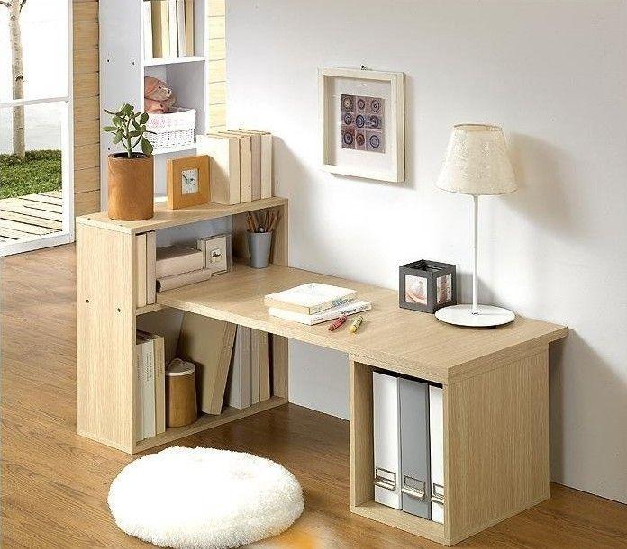 Buy Stylish Desktop Home Study Desk Desk Desk Bookcase