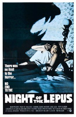 Night Of The Lepus Horror Movie Posters Best Horror Movies