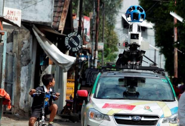 Google Street View Keluar Masuk Kampung di Jakarta
