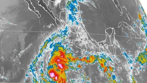 Se forma 'Amanda', la primera tormenta tropical de la temporada