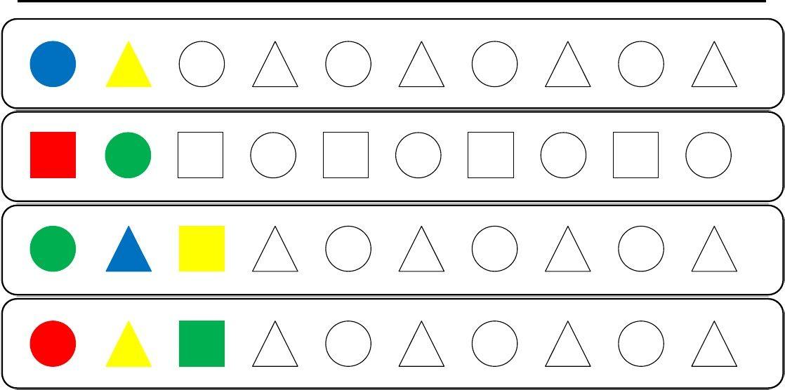 Fichas Formas Geometricas Basicas Con Imagenes Figuras