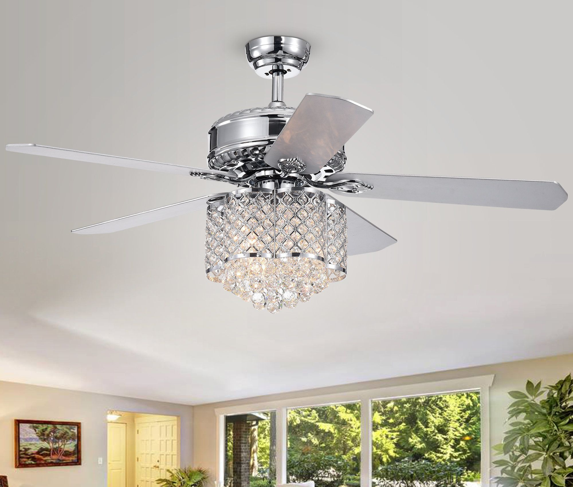 52 Wethington 5 Blade Ceiling Fan With Remote Light Kit Included
