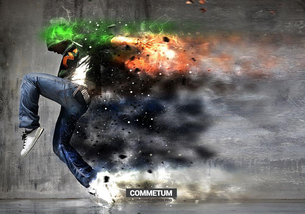 Commetum Photoshop Action by GraphixRiver
