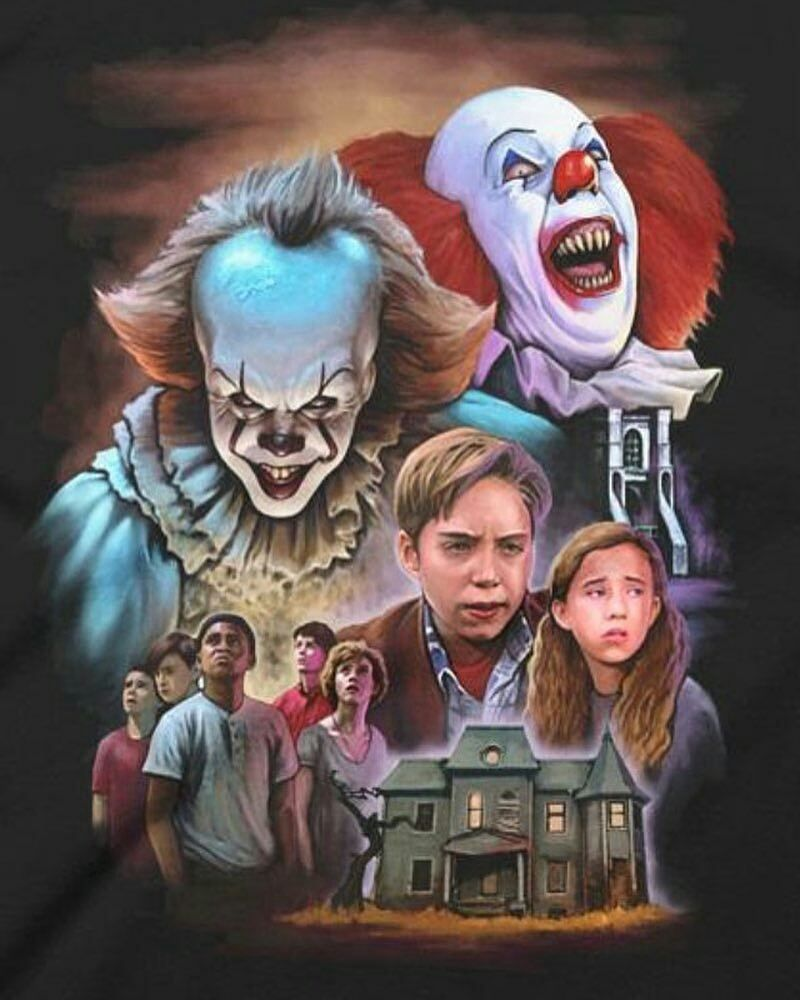 Mix: Stephen King's IT 1990 x 2017 - Poster