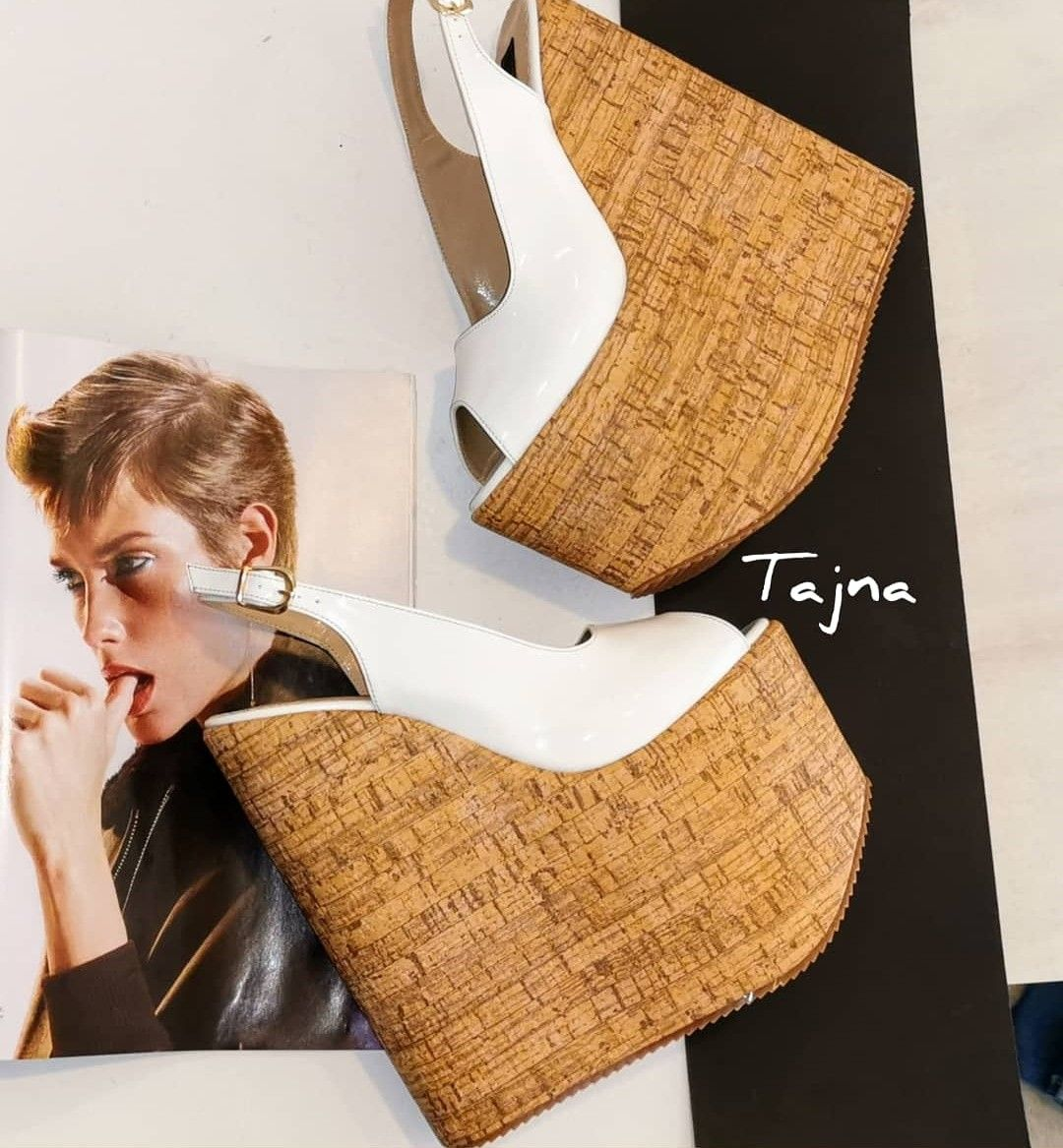 Tajna Wedges #shoewedges