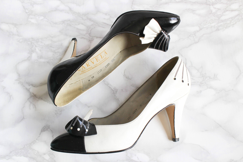 Vintage Heels • Stiletto Heels • 80s