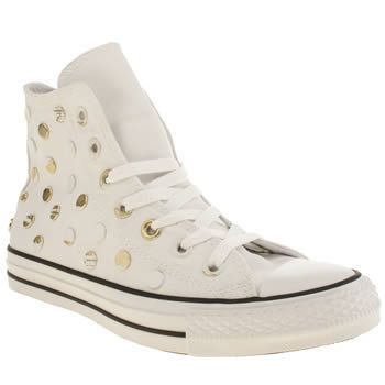 Converse All Star Painted Hardware Hi-White