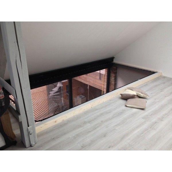 filet pour mezzanine filet habitation mezzanine. Black Bedroom Furniture Sets. Home Design Ideas