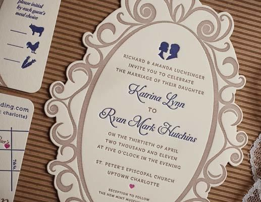 Our 50 Favorite Wedding Invitations Unique wedding invitation