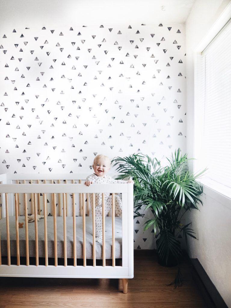 Pin By Lauren Moultrie On For The Littles Nursery Wallpaper Boy Boys Room Wallpaper Baby Room Decor