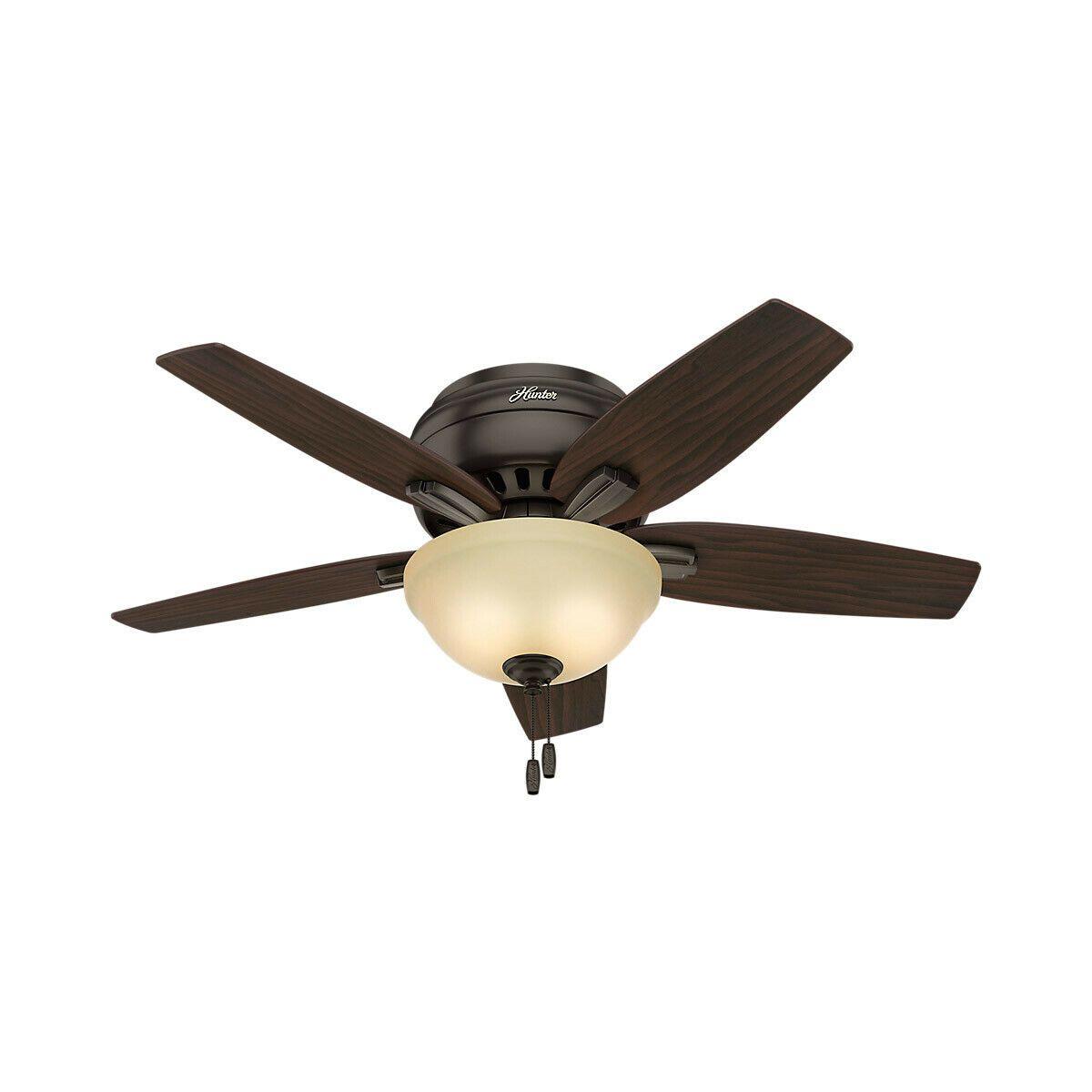 Hunter Fan Company 51081 Newsome Indoor Ceiling Fan Premier Bronze