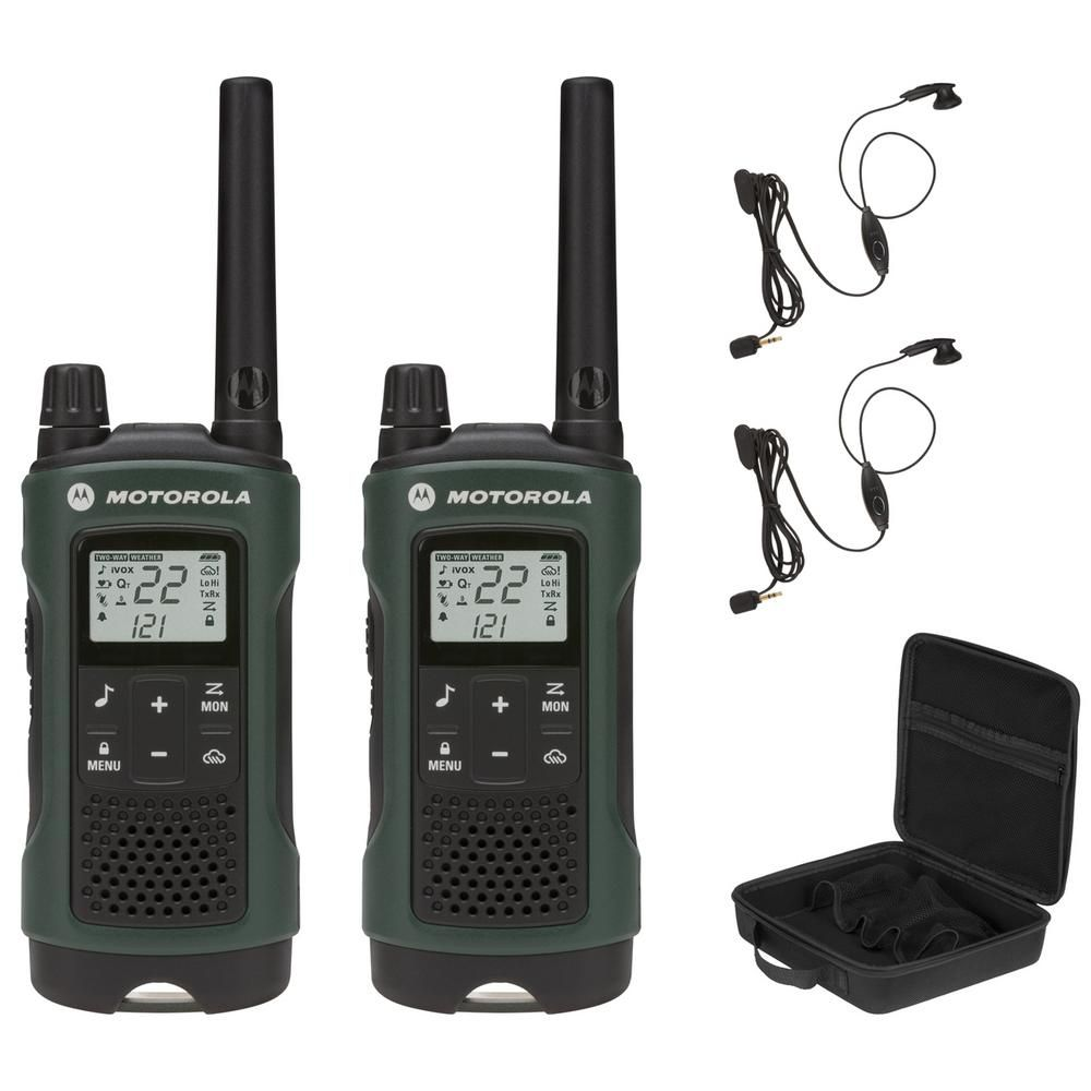 Motorola Talkabout T465 FRS/Gmrs 2-Way Radios with 35 Mile